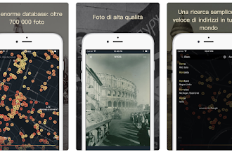 OGGI GRATIS: sorprendente App che vi svela com'era anni fa il posto in cui vi trovate