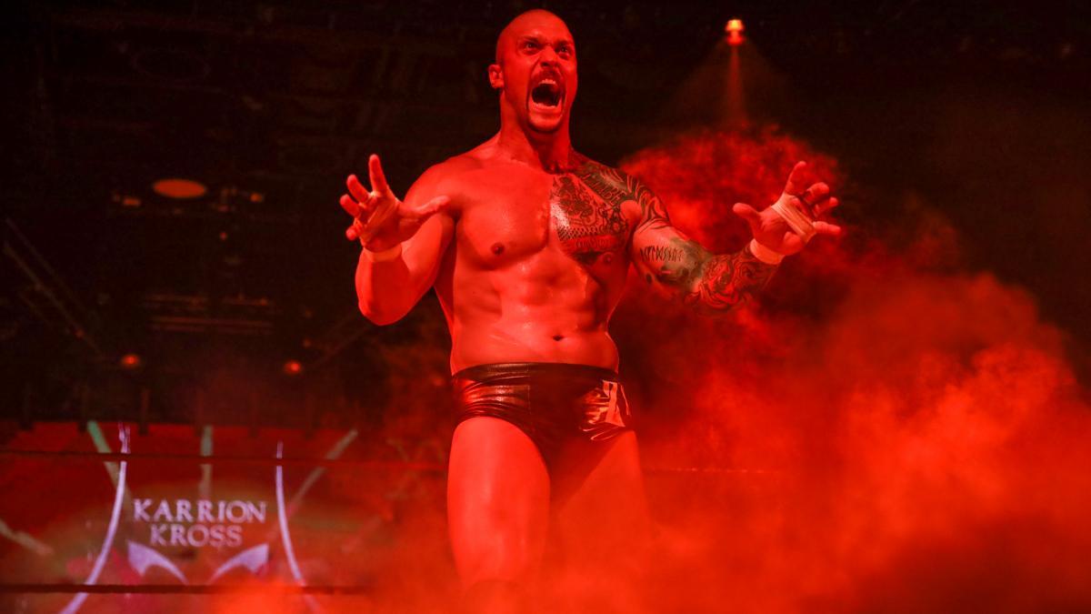 Karrion Kross iria ser derrotado novamente por Jeff Hardy no RAW