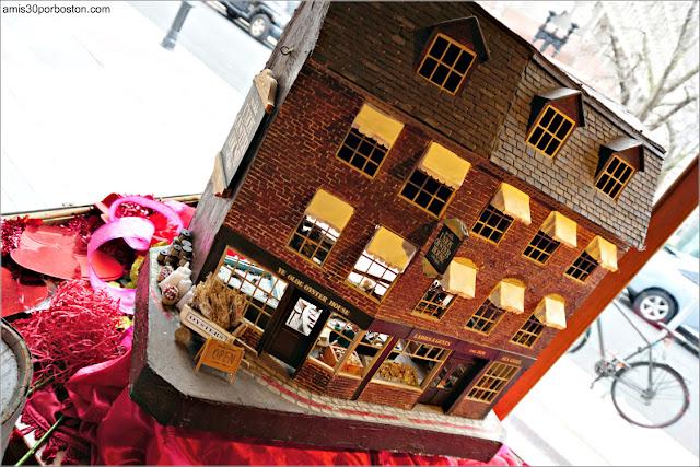Maquetas del Union Oyster House en Boston