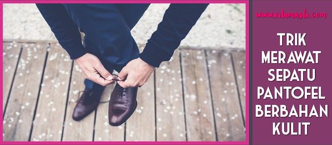 4 Trik Merawat Sepatu Pantofel Berbahan Kulit