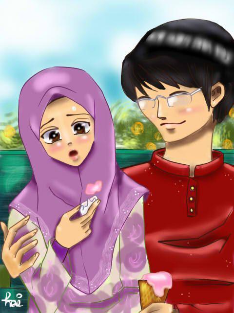 Krakenism Hiperb Imej Islam Dengan Kartun Islamik