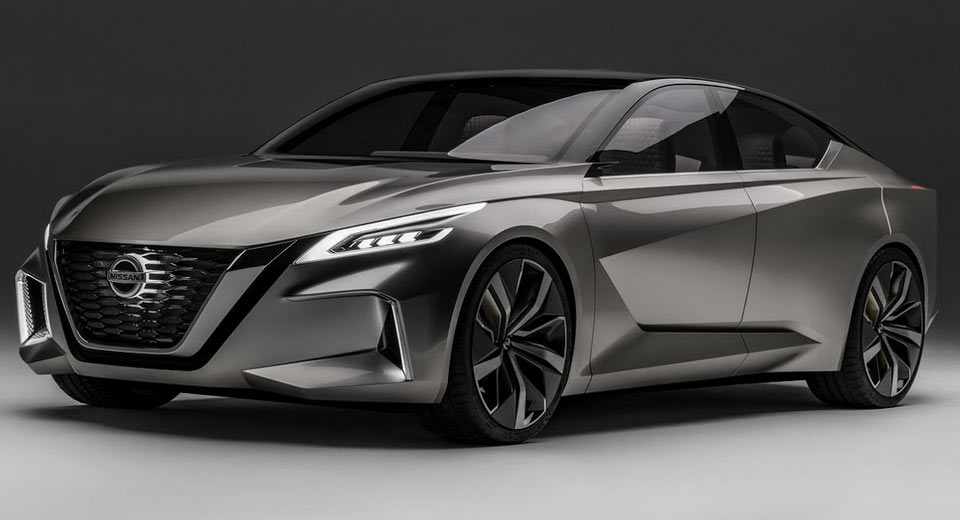 Nissan Reveals Sexy Vmotion 2.0 Concept, Likely Previewing ...