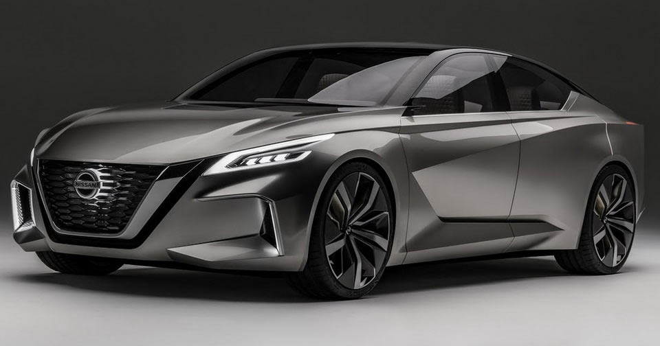 2 Door Altima >> Nissan Reveals Sexy Vmotion 2.0 Concept, Likely Previewing Next Altima