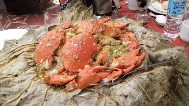 Steamed Crab with Sticky Rice