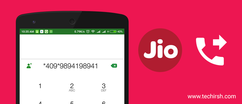 How to activate deactivate call forwarding or diverting in Jio Sim