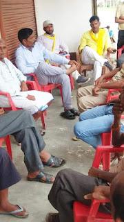 FB_IMG_1569155321720 जिला हरदोई विधानसभा संडीला ग्राम सभा सिकरोरी में नुक्कड़ सभा