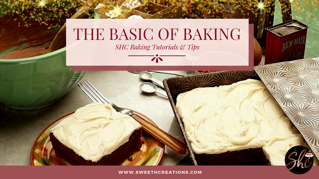 THE BASICS OF BAKING (TIPS TO TURN YOU INTO PRO!)