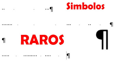 Quitar simbolos raros de word y outlook