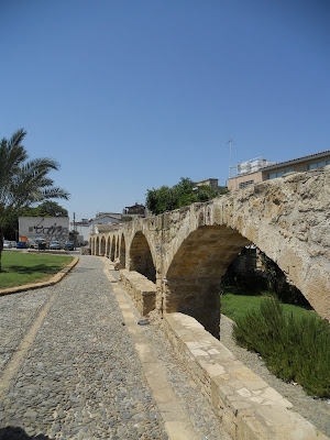 One Week in Cyprus: Aqueduct in Nicosia