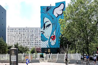 "Sunday Street Art : D*Face - ""Turncoat"" - Street Art 13 - boulevard Vincent Auriol - Paris 13"
