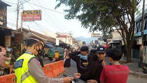 Polsek Cicalengka Polresta Bandung, Masifkan Pengamanan Selama Bulan Puasa
