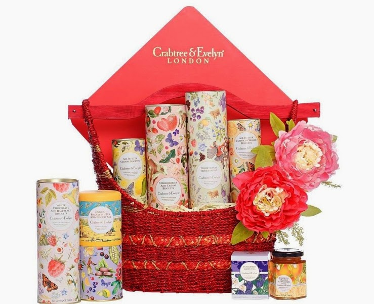 Crabtree & Evelyn Longevity Fine Food Hamper, Crabtree & Evelyn, CNY Fine Food Collection 2015, Chinese New Year Fine Food Hamper, Fine Food, Pear and Pink Magnolia Bath and Body, Crabtree & Evelyn CNY, CNY 2015
