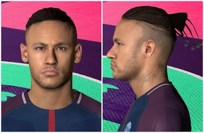 PES 2017 Neymar Jr New Face & Hair Style 2018 By Ahmed