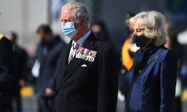Prime Minister of Greece, Kyriakos Mitsotakis. Katerina Sakellaropoulou and her partner Pavlos Kotsonis
