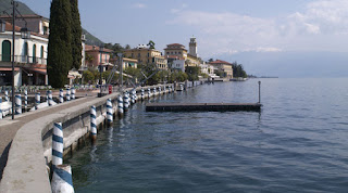 Gardone Riviera is an elegant resort on Lake Garda