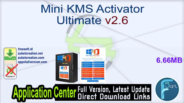 Mini KMS Activator Ultimate v2.6