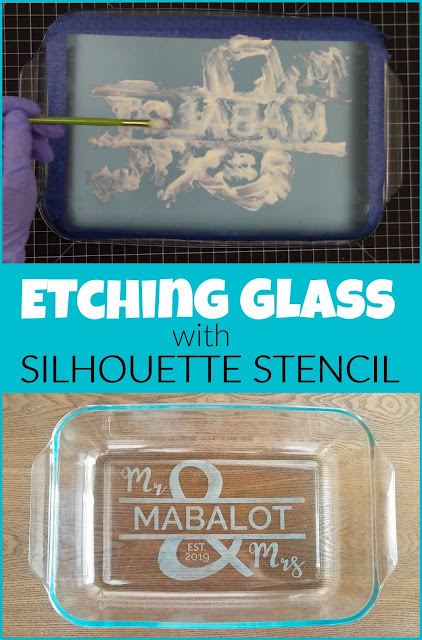 silhouette 101, silhouette america blog, Glass etching, etched glass, how to etch glass