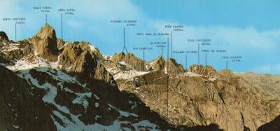 Picos de Cornión desde la Horcada de Pambuche (Macizo de la Bermeja)