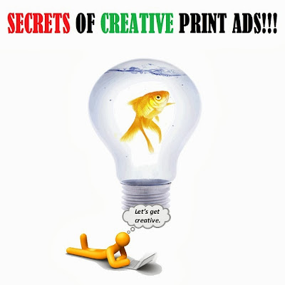 Print Ads making and marketing