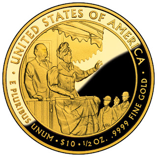 United States Gold Coins Frances Cleveland Second Term 10 Dollars First Spouse Gold Coin