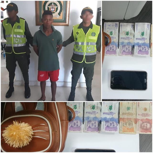 En Maicao capturan a otro ladrón de celulares