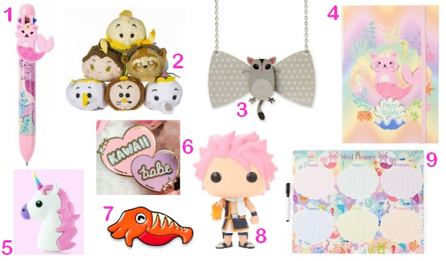 kawaii wishlist, geeky and kawaii, geeky wishlist, kawaii and geeky wishlist,