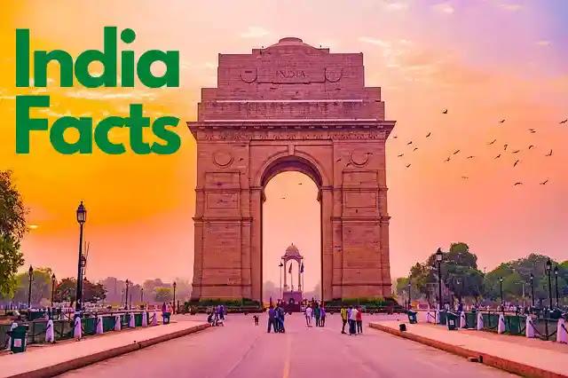 भारत के बारे में 130 अविश्वसनीय तथ्य - Facts About India in Hindi