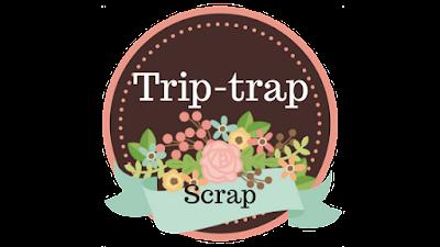 Trip-Trap Scrap marrones y rosas modelo 1