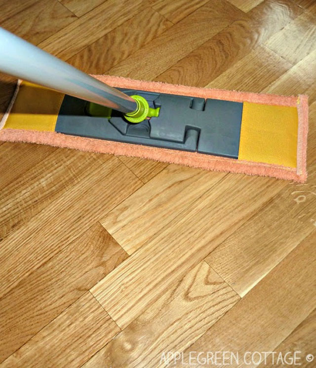 Learn how to make floor mop pads for next to no cost. Much cheaper than buying. The tutorial by Apple Green Cottage will show you how.