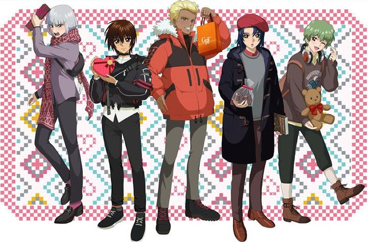 "PICK-UP-G ""Gundam SEED"" Valentine & White Day Fair ~C.E.0069ver.~ - Commento e Retroscena della Key Visual di Ichika"