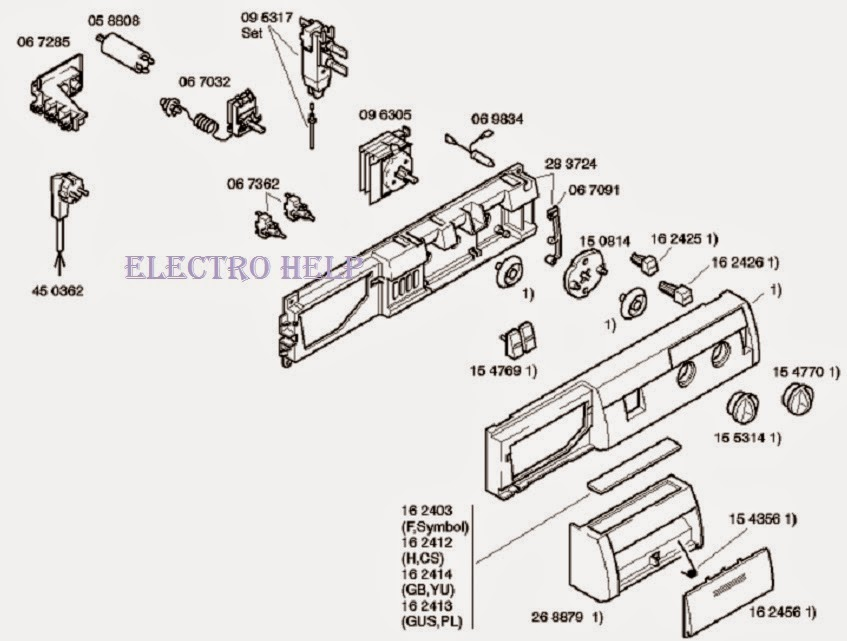 Bosch Washer Wiring Diagram Wiring Schematic Diagram