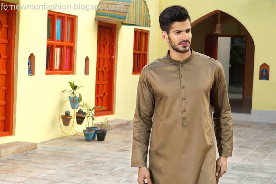 New Men Kurta by Gul Ahmed 2016 ~ For New Men Fashion