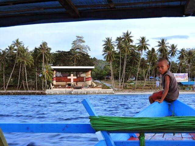 Christian pilgrims visit Mansinam island every day.