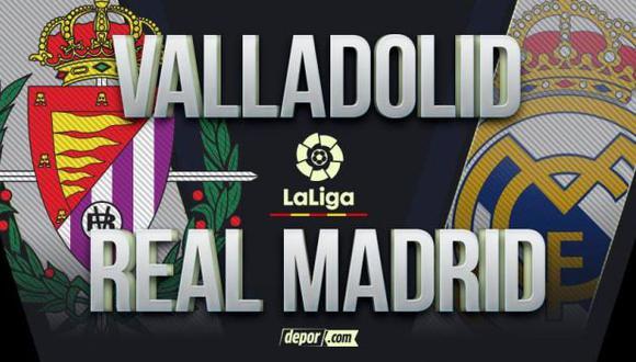 Real Madrid vs. Valladolid EN VIVO por LaLiga: vía ESPN desde Pucela