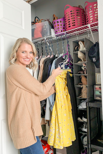 Organizing Your Small Closet on a Budget