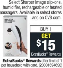 Sharper Image Slip-ons, Humidifiers or Rechargeable or Heated Massagers