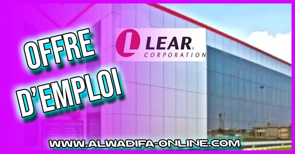 Lear recrute Plusieurs Profils sur RABAT SALE
