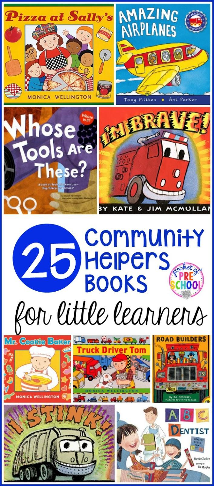 community helpers books for little learners pocket of preschool