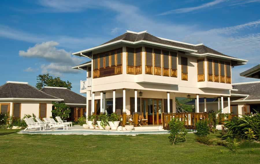 New home designs latest modern homes designs jamaica for Latest home design images