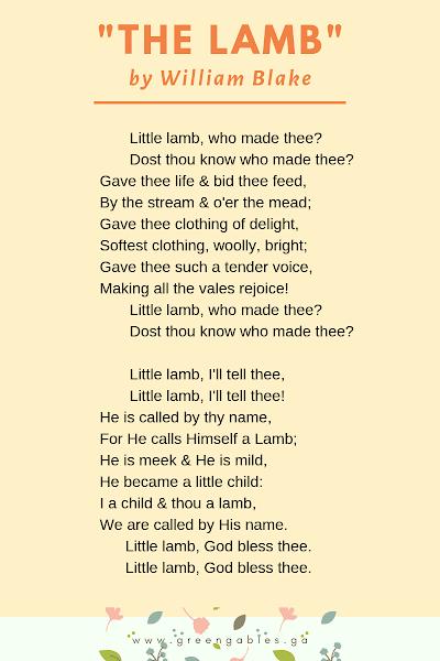 Poem The Lamb