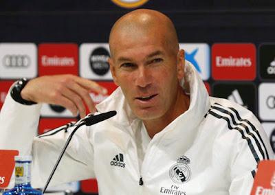 Zinedine Zidane rueda de prensa