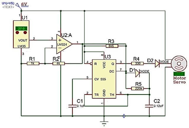 Implementasi Sensor LM35