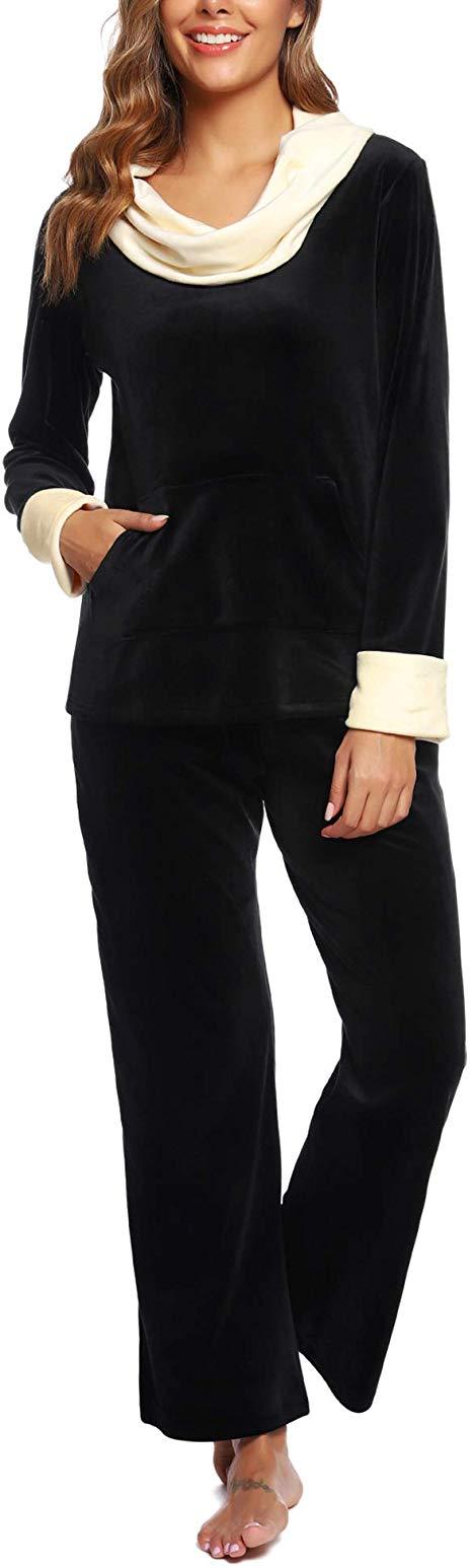 50%OFF Women's Plush Fleece Pajama Set