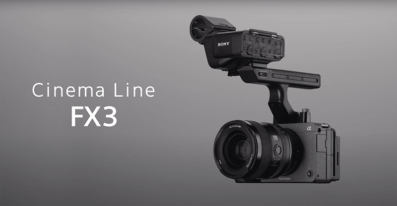 Sony FX3 Cinema Line camera now official, features enhanced operability and cinema-look
