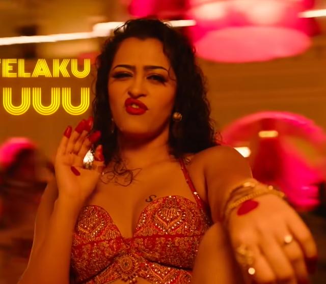 Apsara Rani Pepsi Aunty Song Hot Photo Stills from Seetimaarr Navel Queens