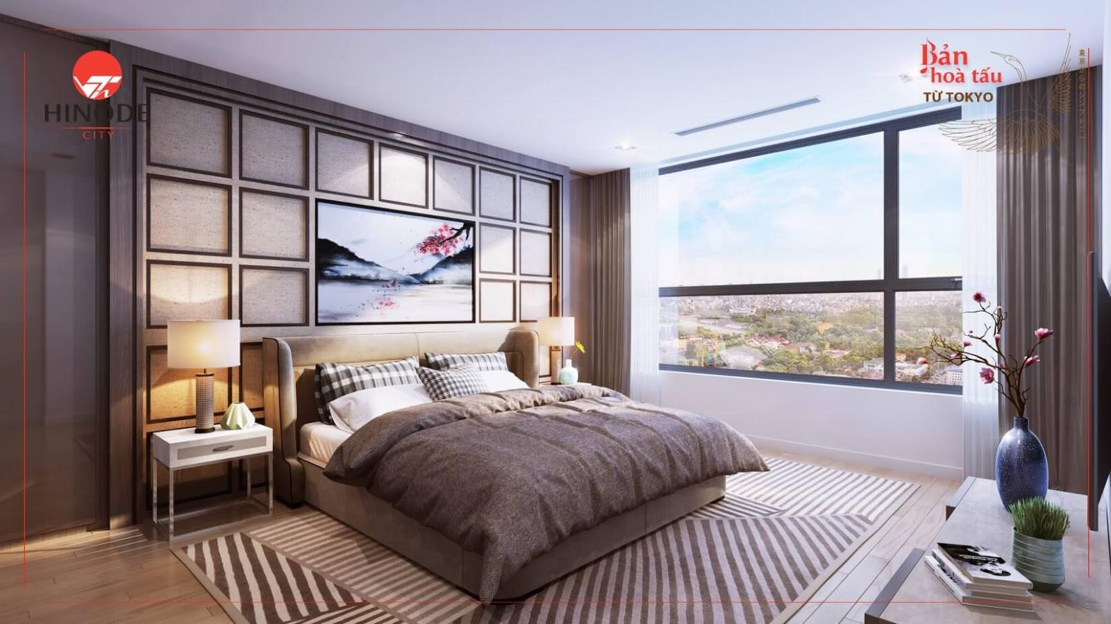 Hinode City được hoàn thiện những nội thất tiêu chuẩn cao cấp