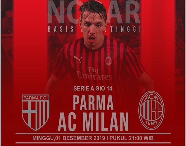 Parma Vs AC Milan-IGmibasisbukittinggi