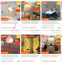Review Shop HUTA-Light For Life bán đèn trên SHOPEE