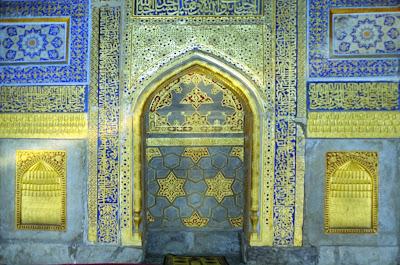 Ouzbékistan, Samarcande, Registan, Tilla-Qari, © Louis Gigout, 1999