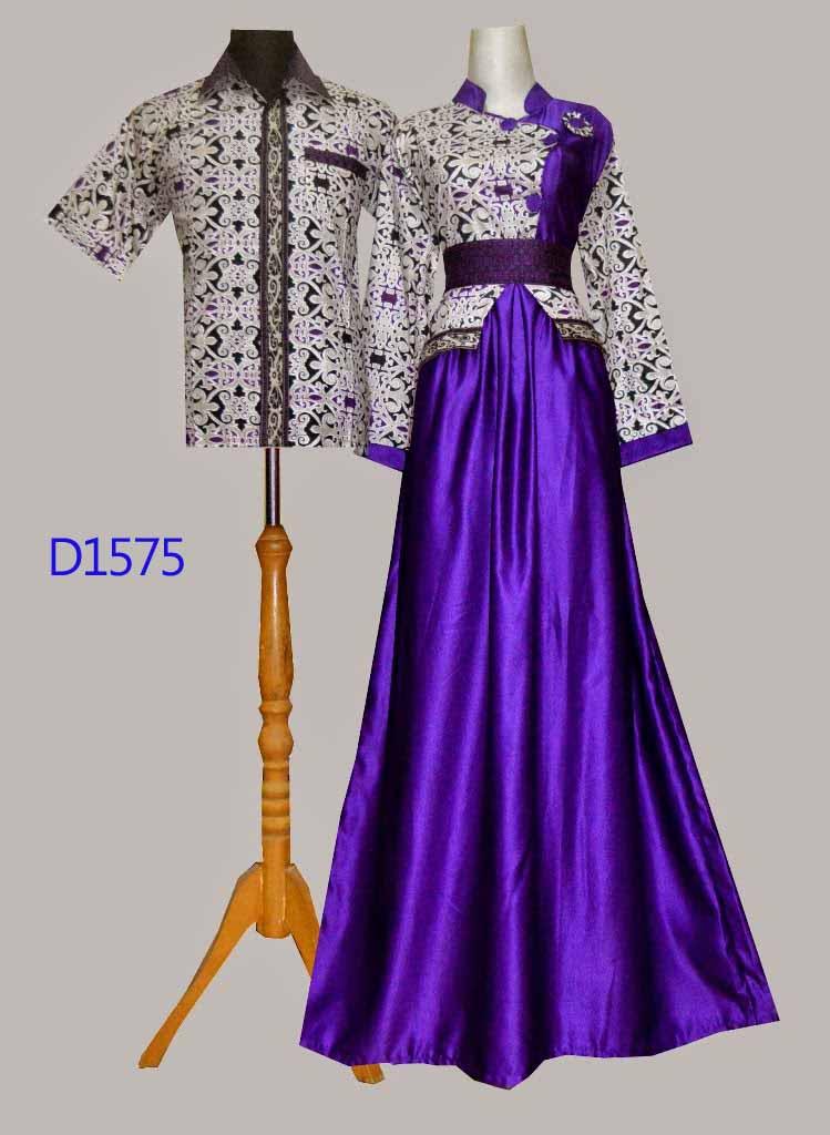 Baju Batik Muslim D1575